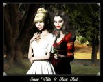 Snow White and Rose Red by Shaelynn