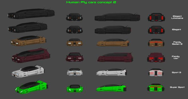 Fly Cars Concept - Part 2 by nach77