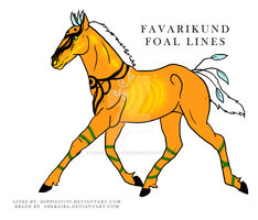 583 Favarikund Foal design