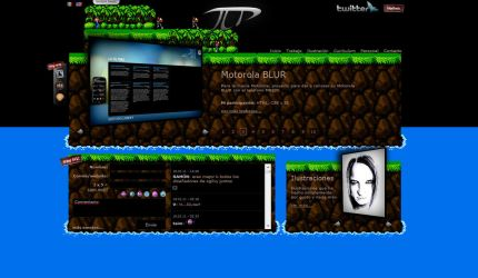 My Personal Website Skin04 by vampipe