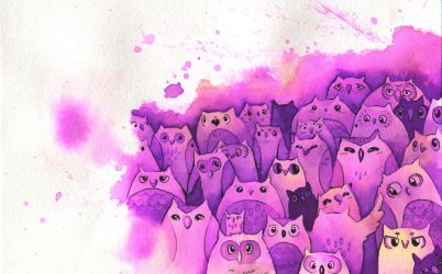 Owls by Kaitlyn23