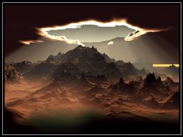 New Beginning - Terragen by furryphotos