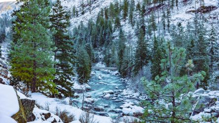 Icicle Creek by nvseal
