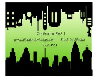 City brushes pack 1 by Ailedda