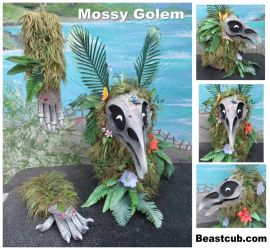 Mossy Golem - FOR SALE - now with video by LilleahWest
