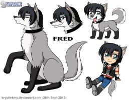 Wolf Rookie: Fred 02 by krystlekmy