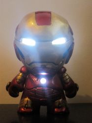 Ironman Mark III Munny by skylineBARR