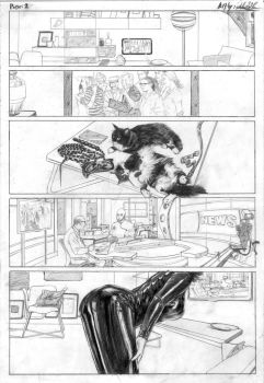 Page 2 Catwoman by TheArtistAladdin