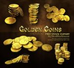 MB Golden Coins by modblackmoon