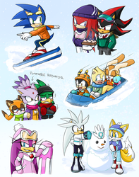 -STH Snow Doodles- by Biko97