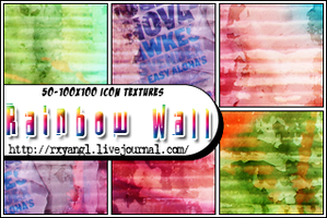 50-100x100 RainbowWallTextures by princess-RxY