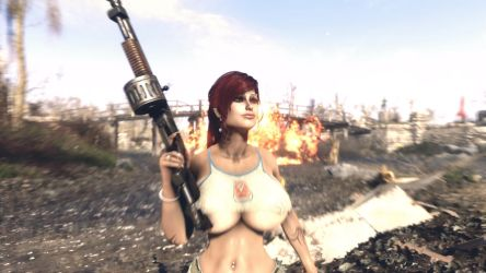 FO4 / Cool Girls Don't Look At Explosions by SkyrimMasterrace
