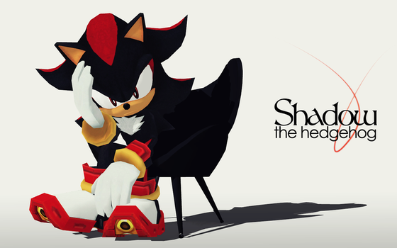 MMD: Shadow the Hedgehog by tweekcrystal