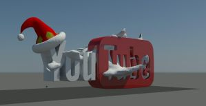 Youtube 3D model by Swpp