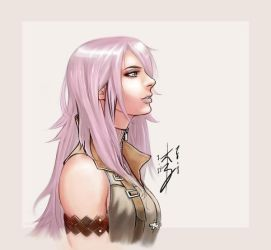 Lightning Final Fantasy XIII by arcais