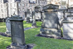 A glimpse of Greyfriars Kirkyard by sequential