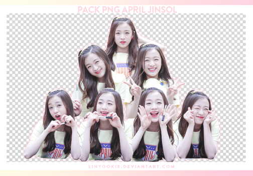 PACK PNG APRIL JINSOL by LinYookie