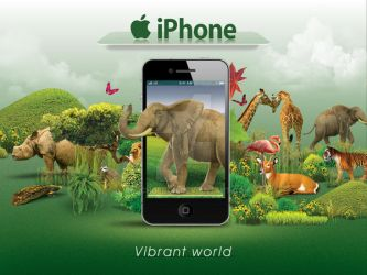 iphone 4G by batchdenon