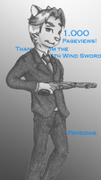 0044-DN: 1.000 Pageviews by 44thwindsword