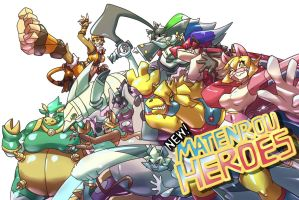 NEW! MATENROU HEROES by dlrowdog