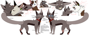 cat ref!!! by wondergunned
