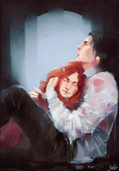 Severus and Lily by MarinaMichkina