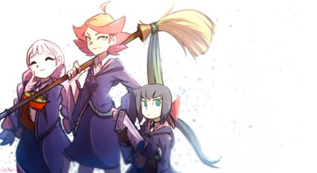 LWA: Team Amanda in peaceful by Omiza-Zu