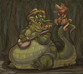 Bayou buddies by Kaaziel