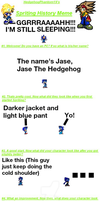 Jase sprite profile (Old) by JaseTheHedgehog16