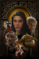 Labyrinth Poster by MisteryCat