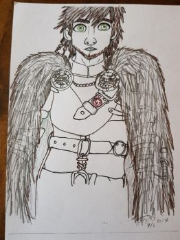Hiccup as Chief by CK-inventor