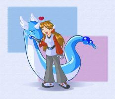 My Dragonair by Fificat