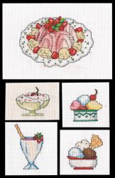 Cross Stitch Sweets And Sugar by BrainLessGirl