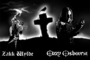 Ozzy Osbourne and Zakk Wylde by IGMAN51
