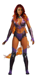 Starfire - Transparent! by Camo-Flauge