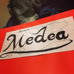 Medea Title Caligraphy  by JocelynCade