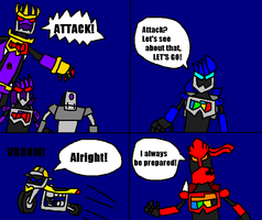 Gamebotz mini-comic by Luqmandeviantart2000