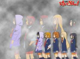 K-ON Wallpaper- No, Thank you by AlexTHF