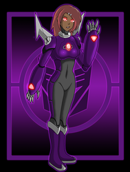 Decepticon Sari: Zero by Damatee