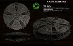 Cylon Basestar (TOS) ortho [updated] by unusualsuspex