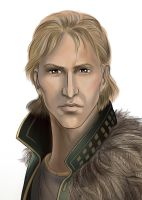 Anders Close Up by SargeCrys