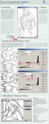 Photoshop: Colouring Tutorial by lumi-mae