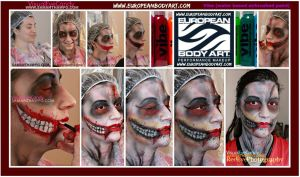 VisualEyeCandy Zombie SPFX Make Up SamanthaWPG by VisualEyeCandy