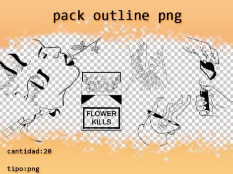 pack outline png by theoskater11