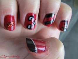 Red and Black - Right hand by CharleneKaraline