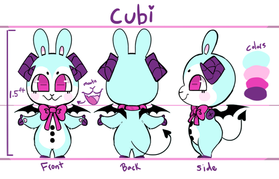 Character Sheet: Cubi (2018) by Rogue-Incubi