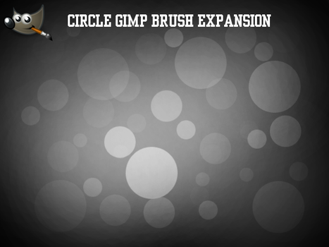 Circle GIMP Brush Expansion (For GIMP 2.6) by PkGam