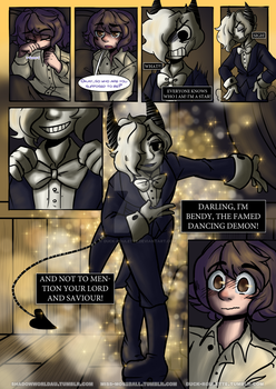 BATIM Shadow World [Page #10] by Duck-Roulette