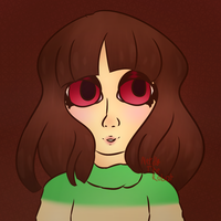 Chara   Practice/Experiment by Nerdy-The-Robot