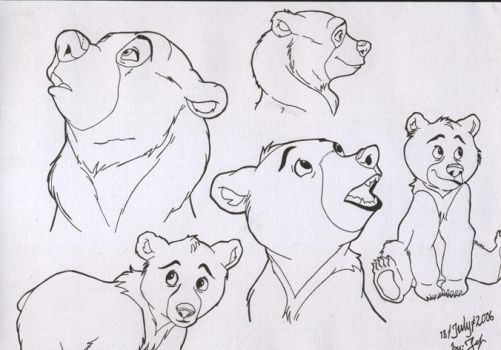My very first Brother Bear by Jefrma